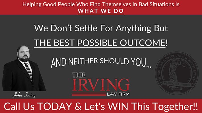 Virginia criminal defense lawyers The Irving Law Firm